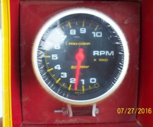 Autometer 5620 Vertex OAC Magneto Tachometer install into the 1963 Grand Prix