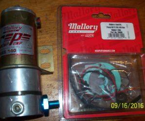 Mallory Comp 60FI- Comp 110-Comp 140 Series Electric Fuel Pump Rebuild