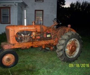 1952 Allis Chamlers WD Tractor Up & Running Again by Me.