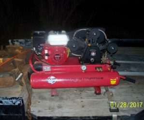 Tahoe T16521 Honda 5.5 HP Gas Engine Powered Air Compressor 21 CFM @ 80 psi Brought Home