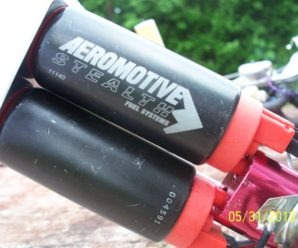 Aeromotive Stealth 340L X 2 C4 Corvette ZR-1 Fuel Pump I made for Steve R.