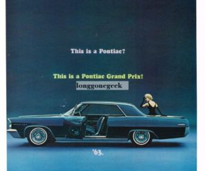 This is a Pontiac? This Is a Pontiac Grand Prix! '63
