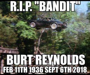 Burt Reynolds Passed On